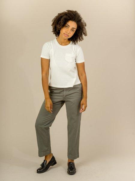 W'Menswear Short Sleeve Pocket Tee - White