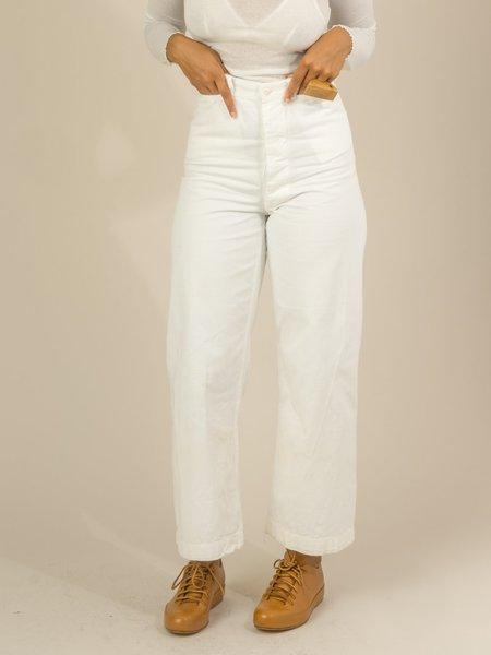 Shop Boswell Vintage Sailor Pants - White