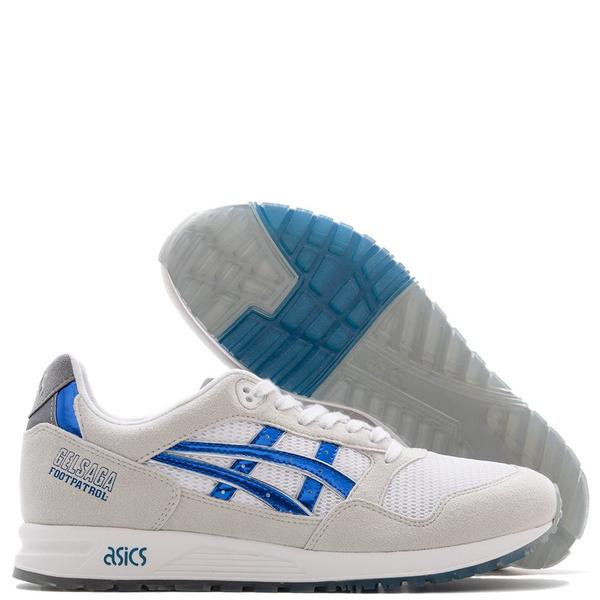 premium selection 3dc2d 34baf ASICS x Footpatrol Gel-Saga - White