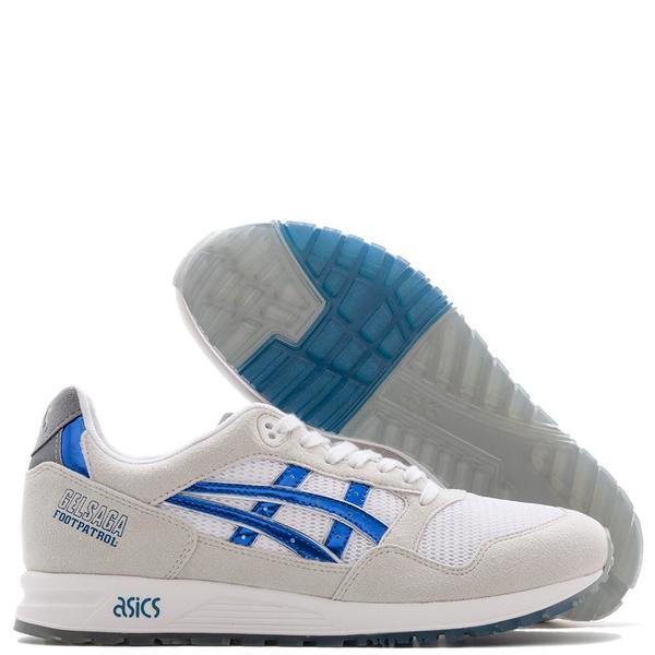 premium selection e1cd2 a84ab ASICS x Footpatrol Gel-Saga - White