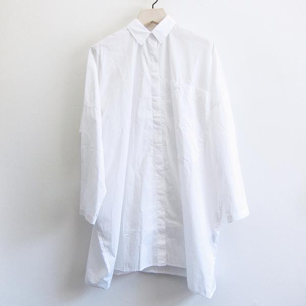 8c1d9132ee Rundholz Black Label Cotton Shirt Dress - White. sold out