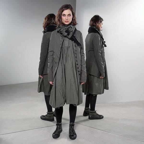 79d3939070fc16 Rundholz Black Label Oversized Dress - Vert. sold out