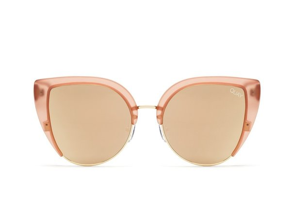 cf7bed530d Quay Oh My Dayz Sunglass - Pink Gold