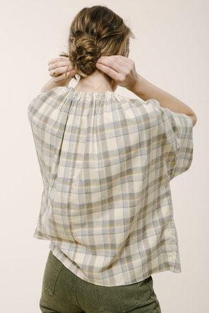 Carleen Drawstring Blouse