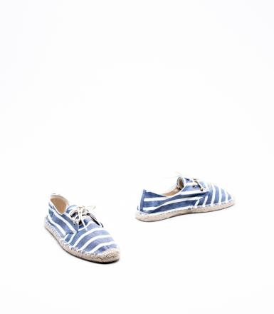 Soludos Classic Stripe Lace Up Derby