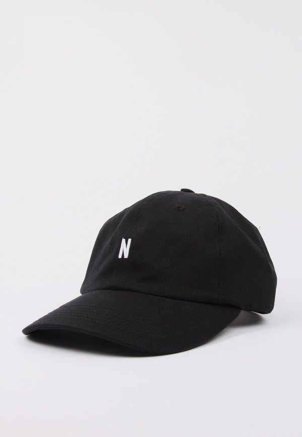 4793191537 Norse Projects N Logo Cap - Black | Garmentory