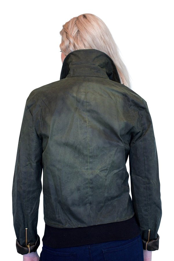 Vaute Couture James Waxed Moto Jacket