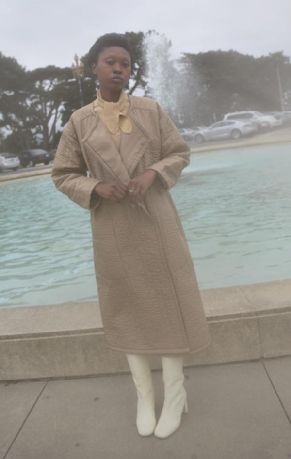 Lauren Manoogian Quilted Duvet Coat