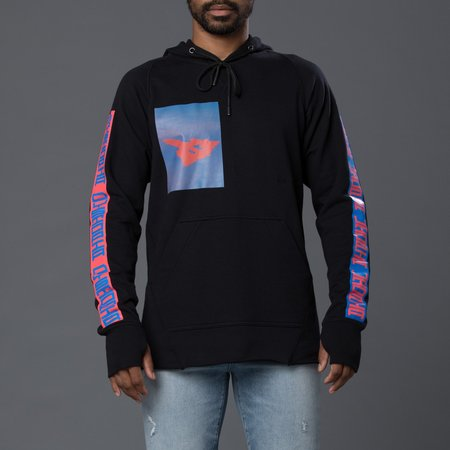 Abasi Rosborough Arc Hood Sweatshirt - Black