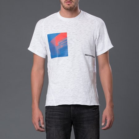 Abasi Rosborough Arc Short Sleeve Tee Shirt - Optic White