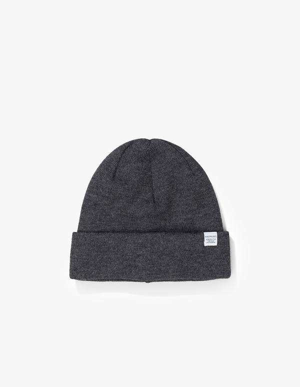 6d8cd9fd59dbc Norse Projects Norse Top Beanie - Charcoal Melange. sold out. Norse Projects