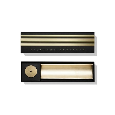 Cinnamon Projects Brass Circa Incense Burner - BRASS