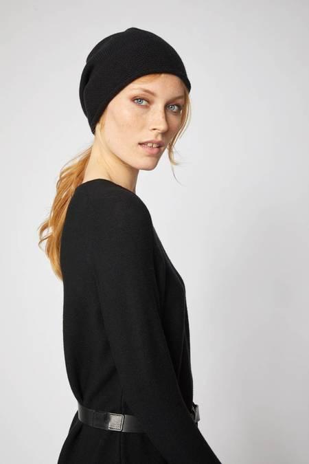 Lanius Merino wool hat - black