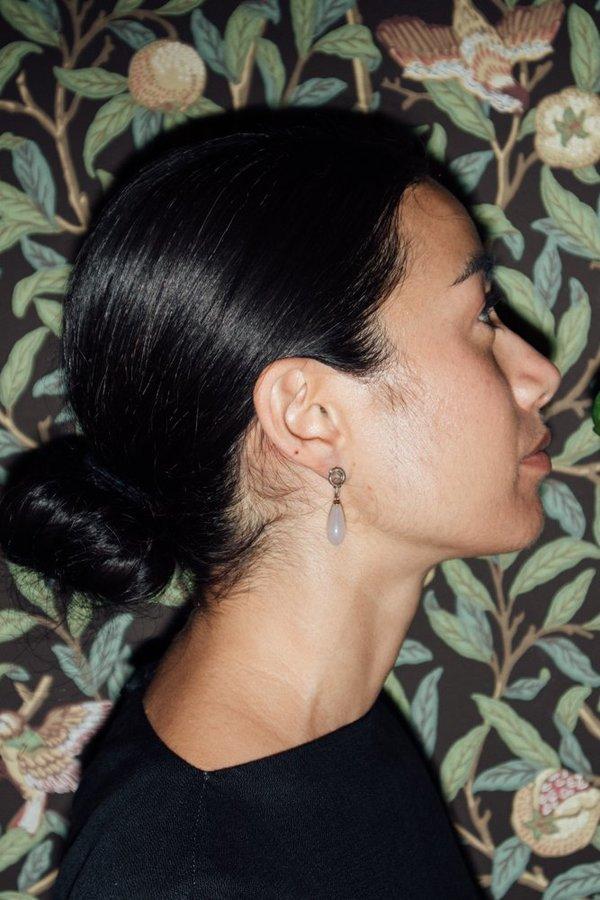 Open House Pintura Earrings - SILVER