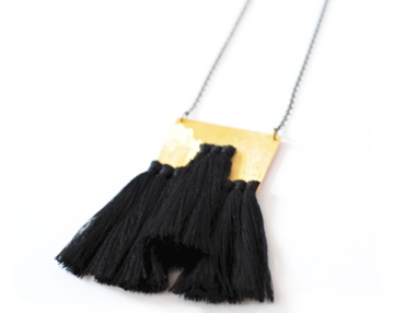 Geography 541 Arroyo Necklace