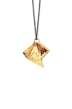 Geography 541 Burro Necklace