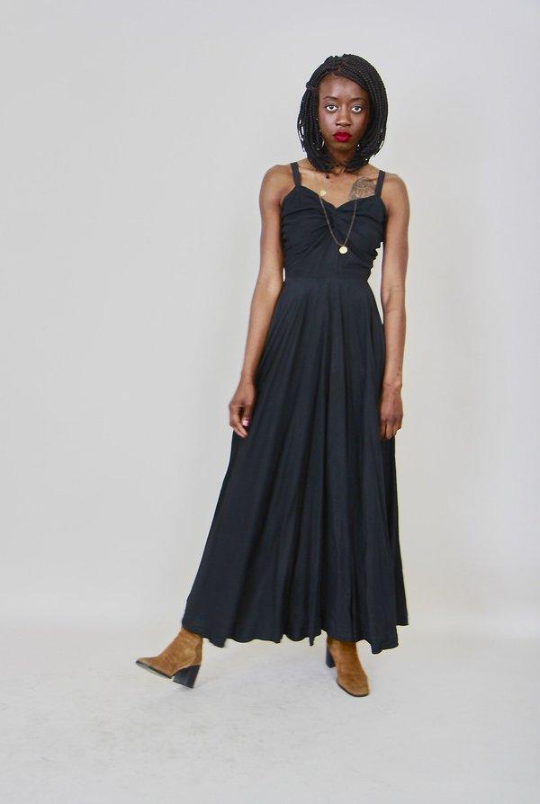 Vintage Taffeta Dress