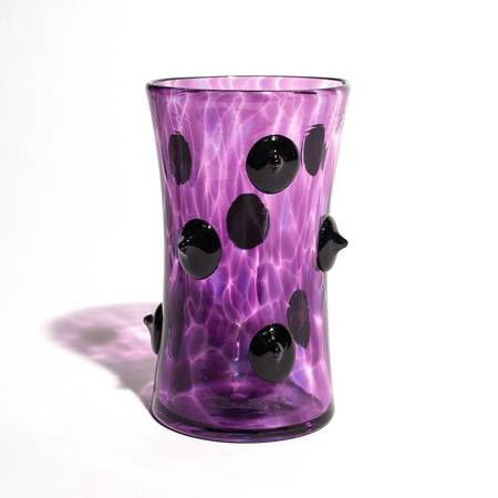 Asp & Hand Knotty Point Tumbler - BLACK VIOLET