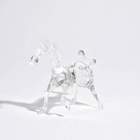 Eli Hansen Glass Horse - CLEAR
