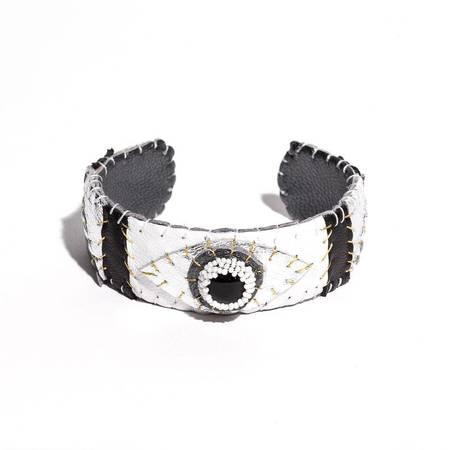 Robin Mollicone Eye Cuff - ONYX