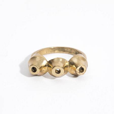 Aesa Bubbly Ring - BRONZE