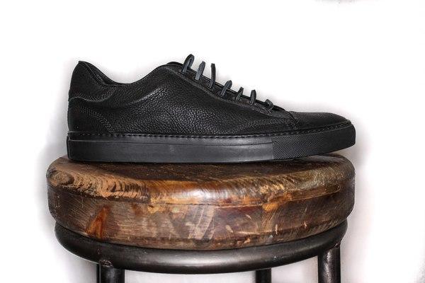 4752f3dfbe7c Wings + Horns Leather Low Top sneaker - Black Black