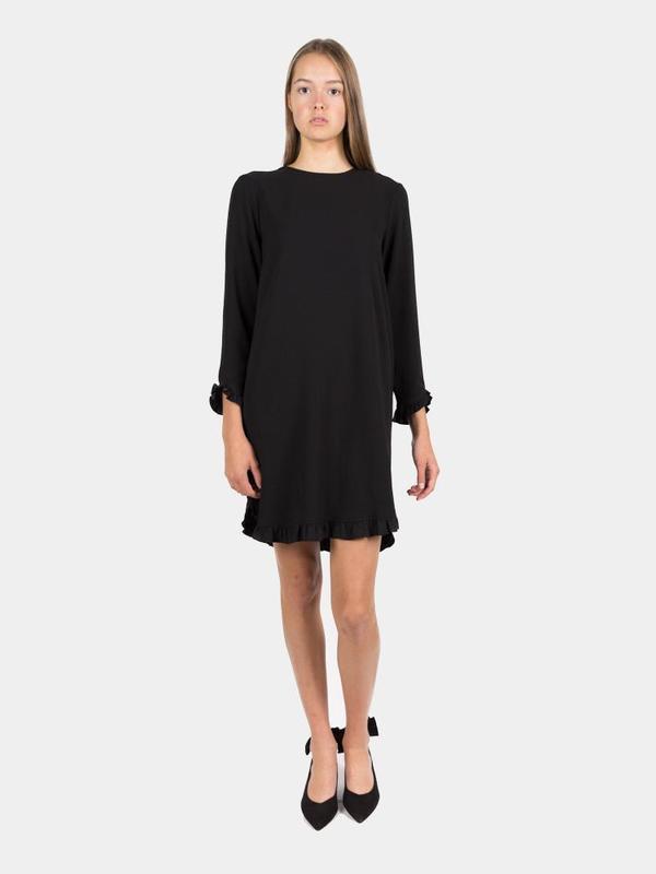 0d206b12 Ganni Clark Mini Dress - Black   Garmentory