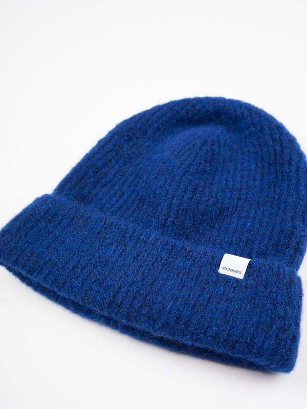 af64212224b Norse Projects Marta Brushed Beanie - Ultra Marine
