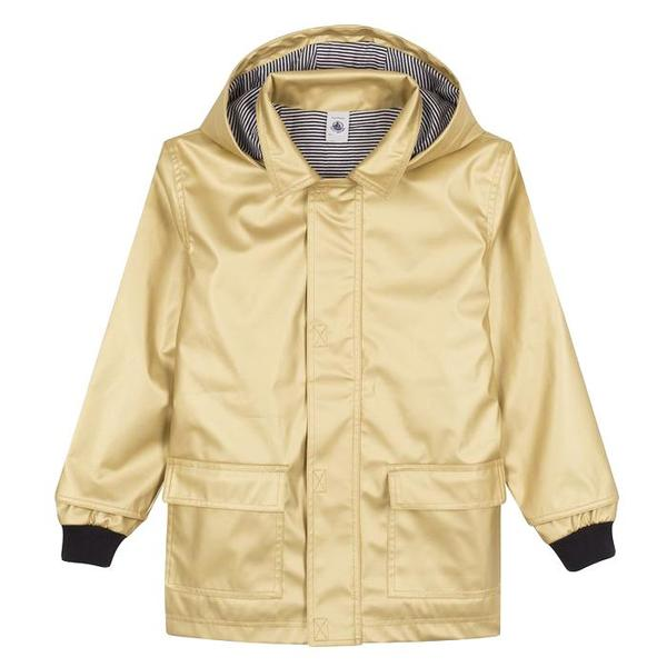 b8ed3d233 KIDS Petit Bateau Child Raincoat - Gold