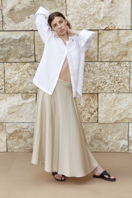 Mina Isik Skirt - Natural