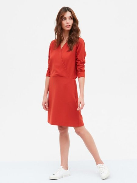 Hartford Regard Dress - Paprika