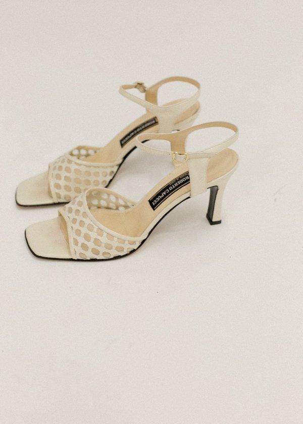 d42c3bc957bd5 Pre by New Classics Vintage Roberto Capucci Sandals - Cream on Garmentory