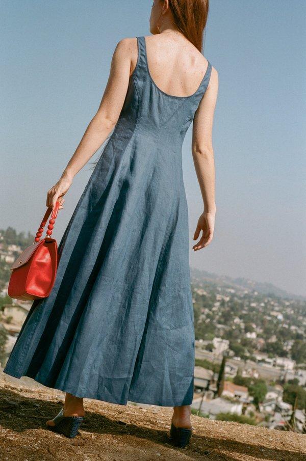 Mara Hoffman Ophelia Dress - Dark Blue