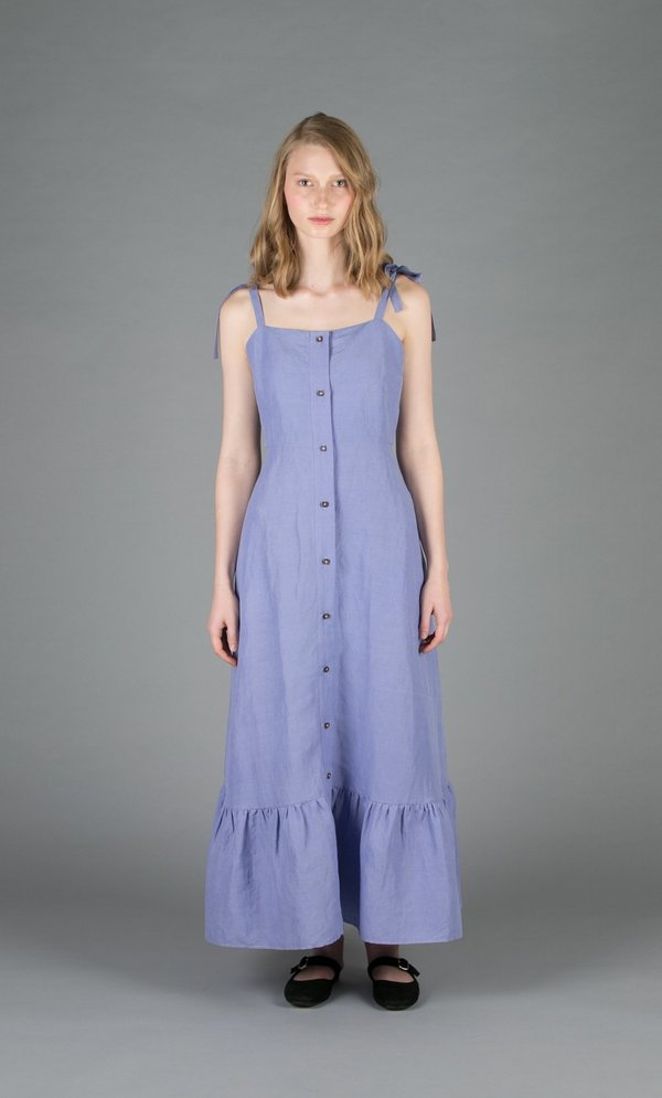 Creatures of Comfort Orion Dress - PERIWINKLE