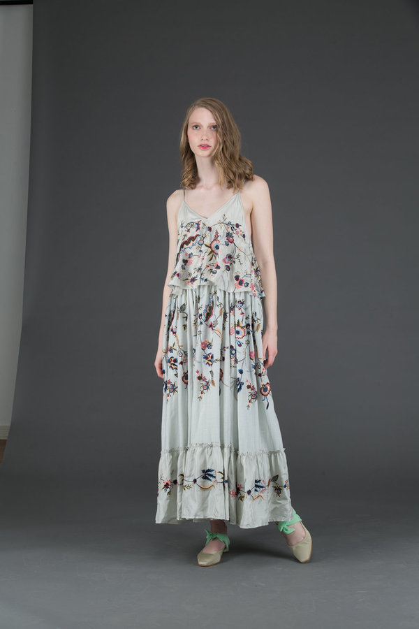 Let Me Be Love Knot Maxi Dress