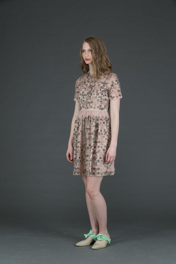 Let Me Be Sunshine Beaded Dress