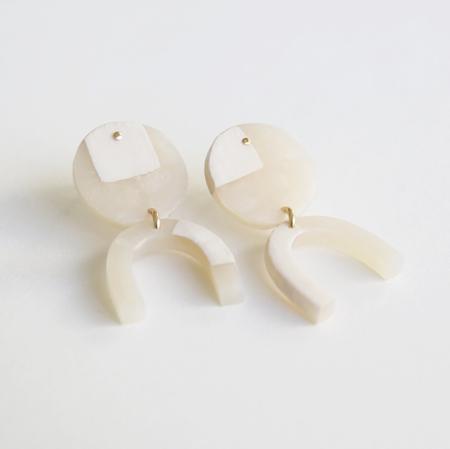 Highlow Arc Earrings