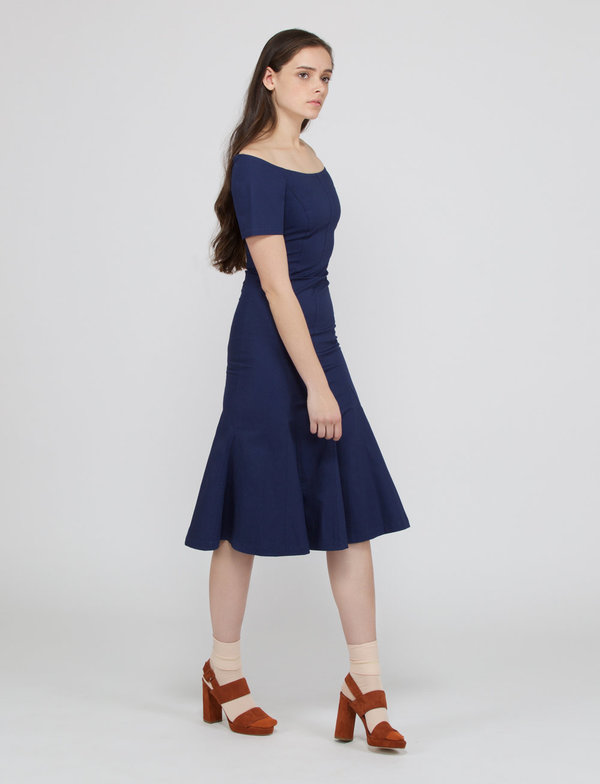 Creatures of Comfort Azule Dress - NAVY