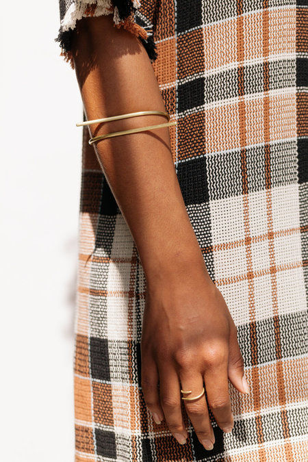 Eyde the rita cuff - BRASS