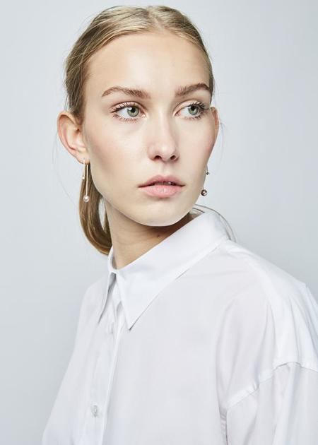 Lareida Allison Hi-Lo Shirt - White