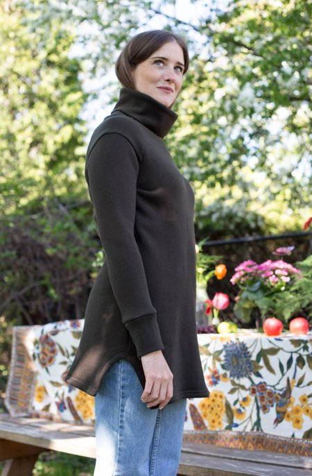 Dagg & Stacey Albie Tunic - Loden