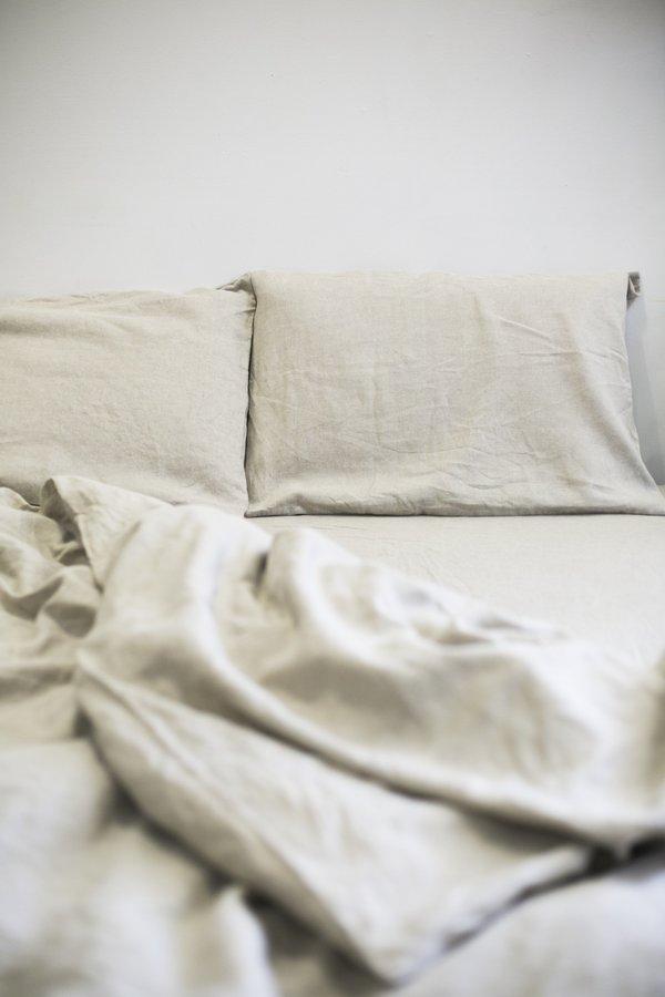 Hemp Bed Sheets Bed Sheets Set Natural Color Yellow Bed Sheets