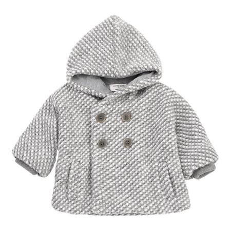 Kids 1+ In The Family Baby And Child Bern Jacket - Light Grey