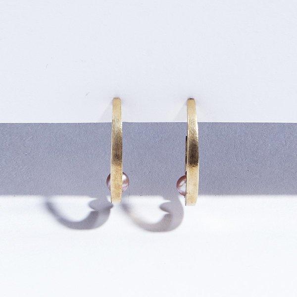 Metalepsis Projects Arco Hoops - Brass