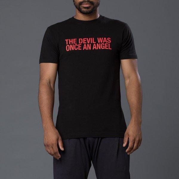 Head of State Angel Printed Short Sleeve Tee - Black