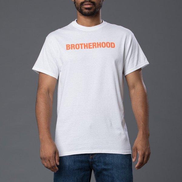 Head of State+ Brotherhood Short Sleeve Tee - White