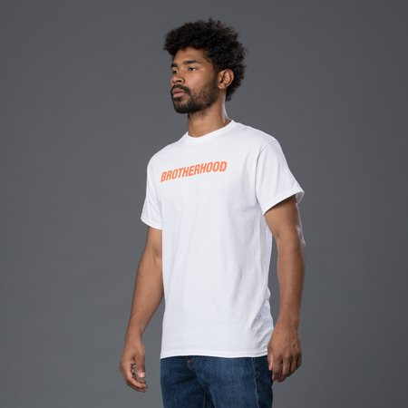 Head of State+ Brotherhood Short Sleeve Tee - White