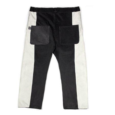 M Press Paneled Corduroy Trousers