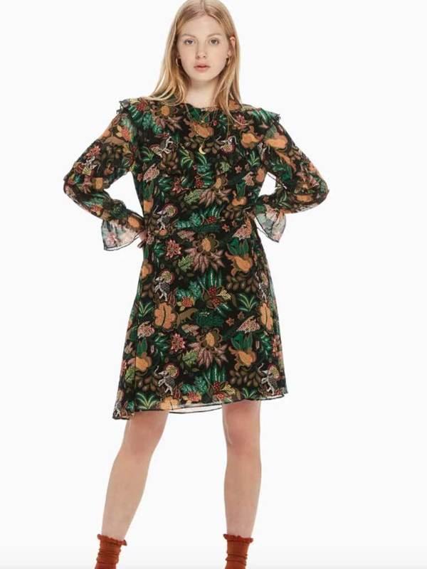 e0dee94a14 Maison Scotch Dress - Jungle Print