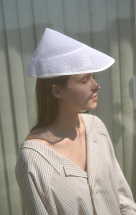 Gabriela Alexandrova Mekong Hat - WHITE